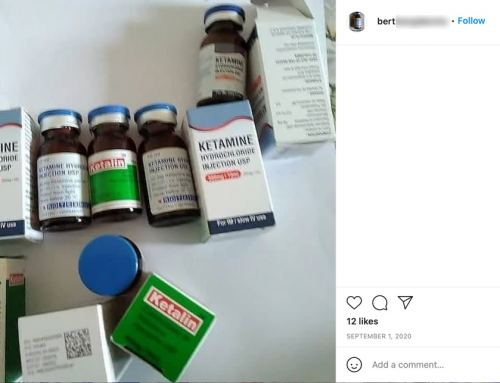 Instagram Drug Dealer Selling Cocaine & Ketamine