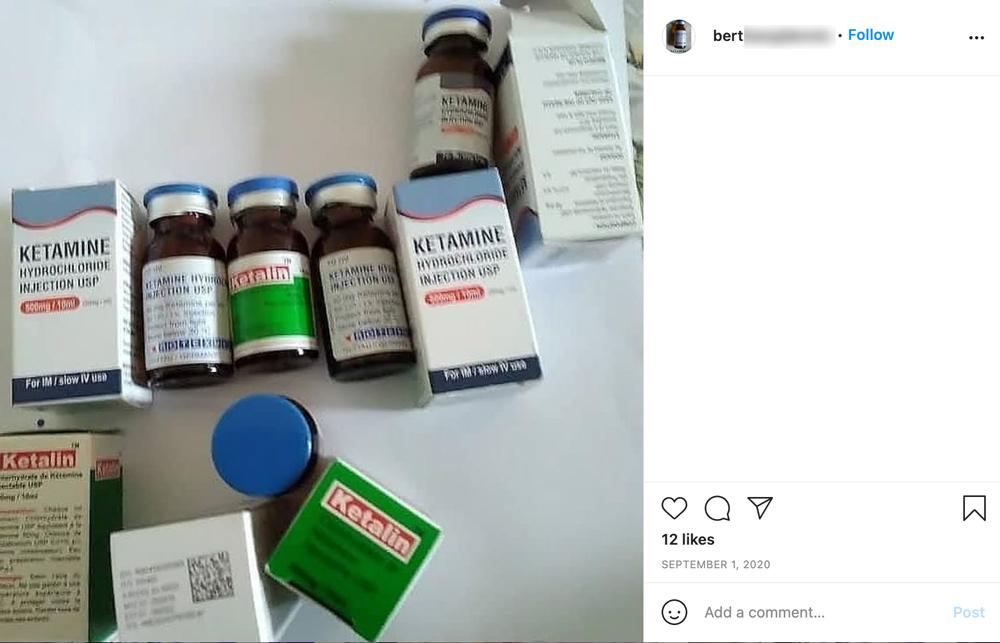 instagram drugs